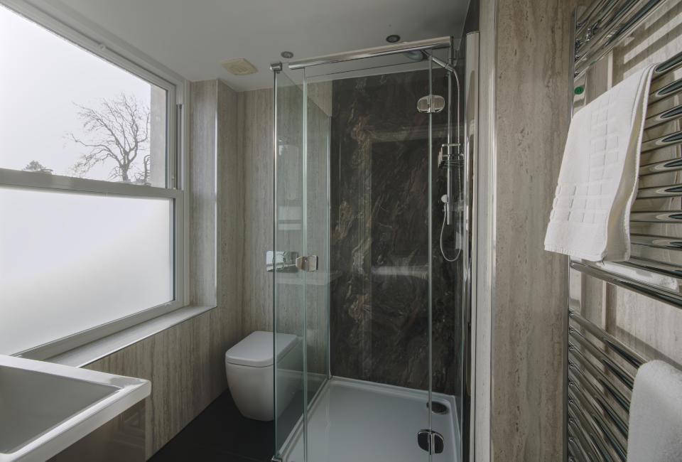 Amethyst Shower Room