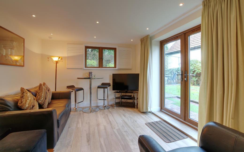 Garden Suite Lounge towards Patio Doors