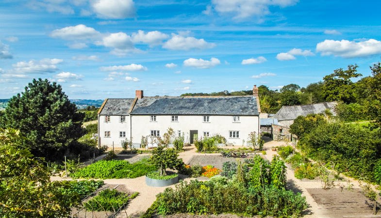 River-Cottage-Best-Place-Stay-Near-By-Westwood-Guest-House-Lyme-Regis-Hugh-Kitchen-Garden