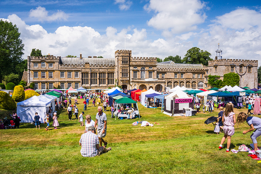 Forde Abbey Charity Summer Fair July 2018 Somerset