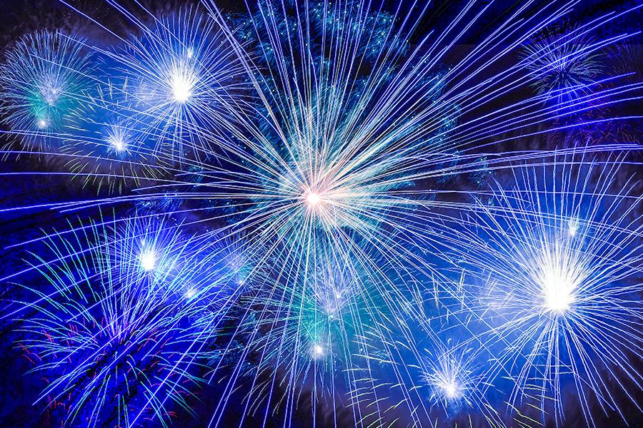 Lyme Regis Fireworks and Bonfire Night November 2018 West Dorset